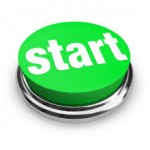 start now green button