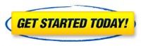get started today yellow button